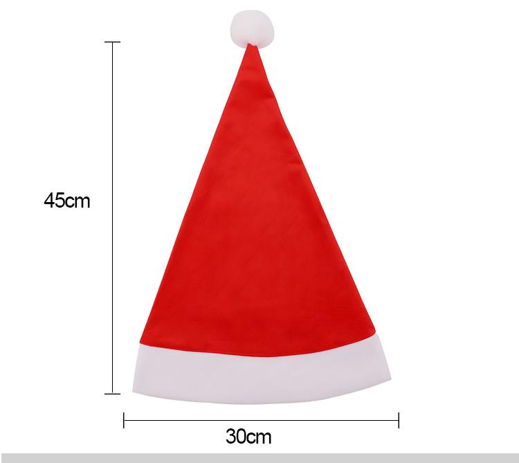 Size for Santa Hat