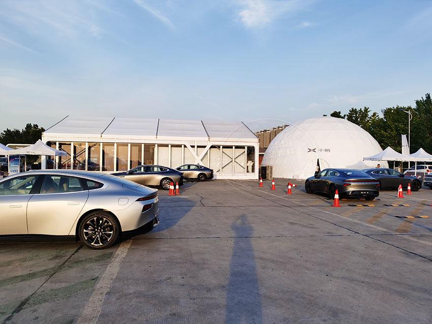 别有创意的郑州透明球型篷房出租租赁