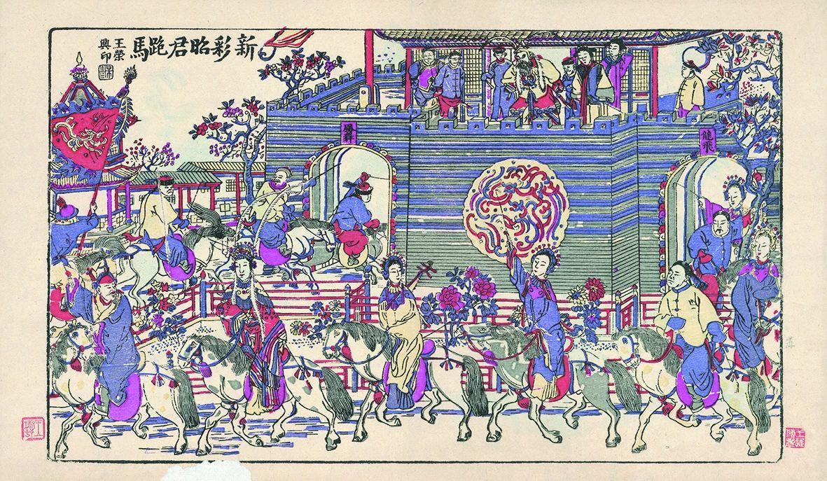 南桃北柳年画:一部民间生活百科全书
