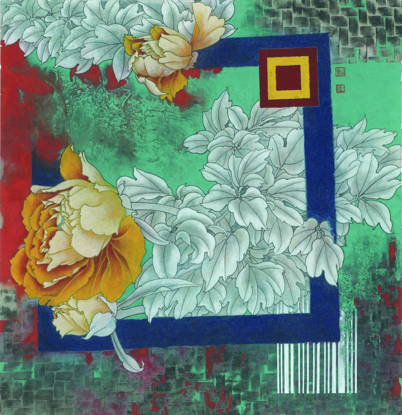 黄丹松:工笔重彩创作的艺术扫码与传统新变