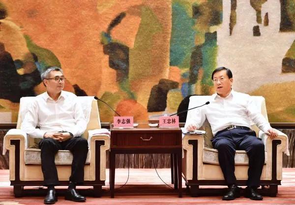湖北省委常委、武汉市委书记王忠林:希望启迪控股助力武汉浴火重生