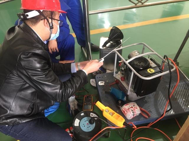 进口液压扳手--助力某特变电客户