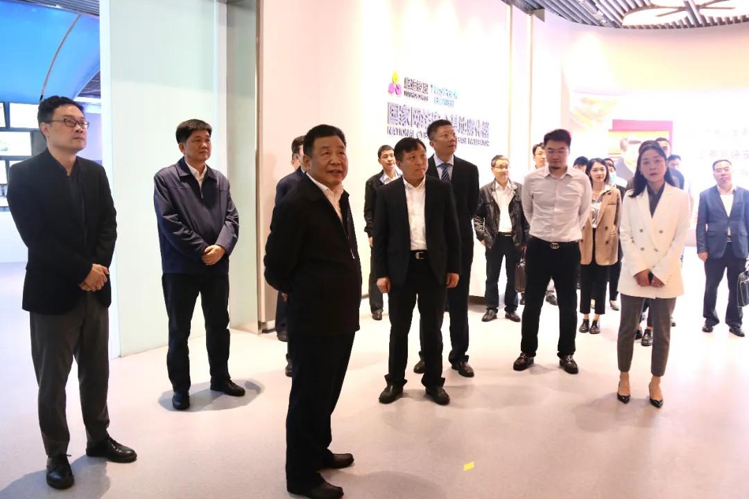 简讯|省委常委、宣传部部长许正中一行莅临启迪网安科技园