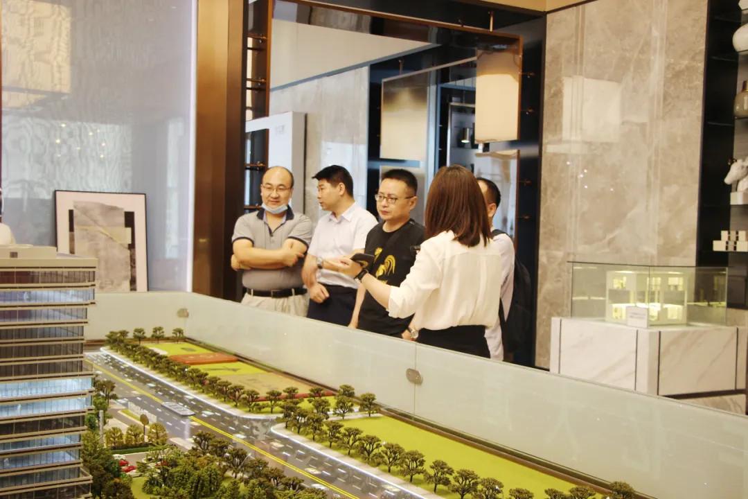 简讯|华中科技大学网络安全学院、华工大学科技园到访启迪网安科技园