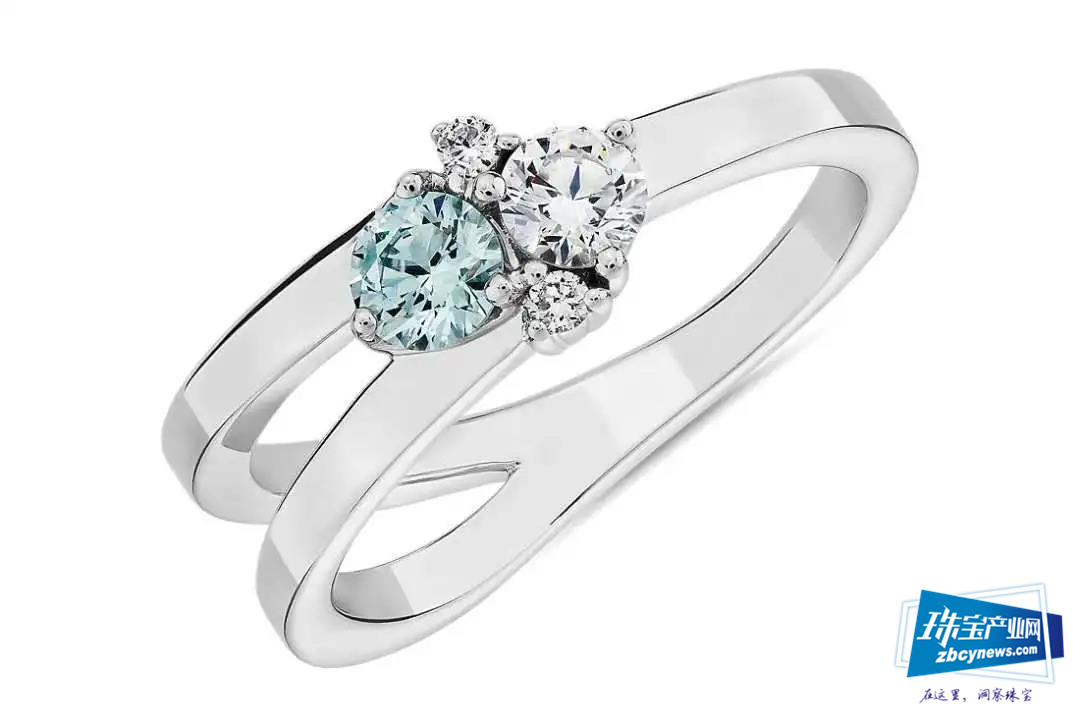 BlueNile开始销售培育钻石珠宝