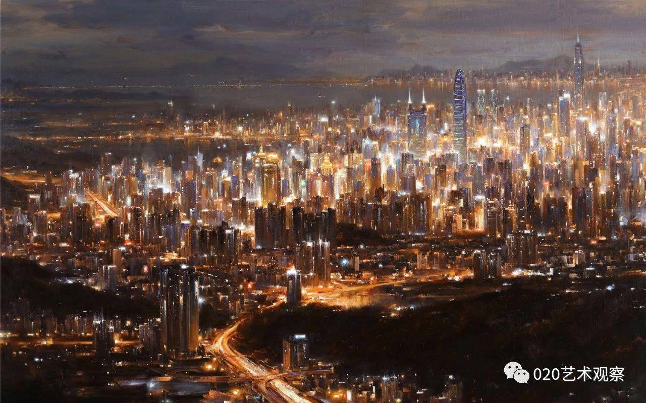 冯少协完成《深圳特区》《珠海特区》《汕头特区》三巨幅油画