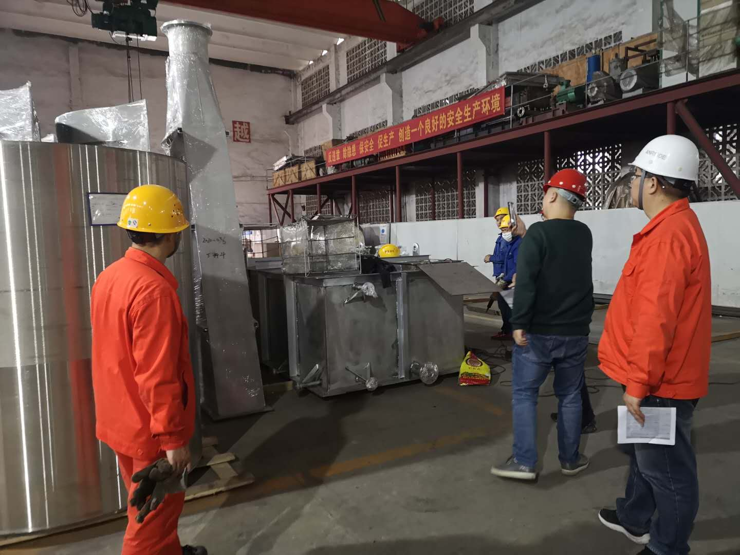 Chongqing Bozhang's first overseas project equipment acceptance in 2020