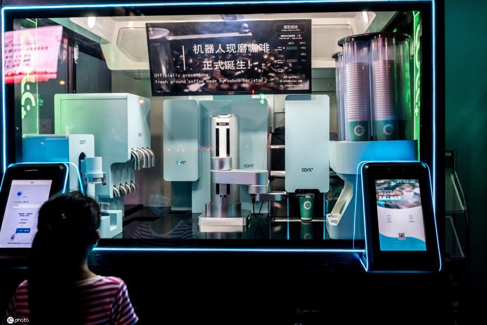 智能机器人咖啡,咖啡界的新浪潮