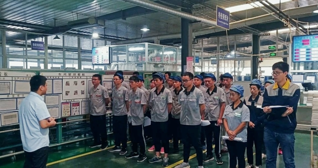 The Lean Manufacturing of Filton PU Air Filter Casting Assembly Line