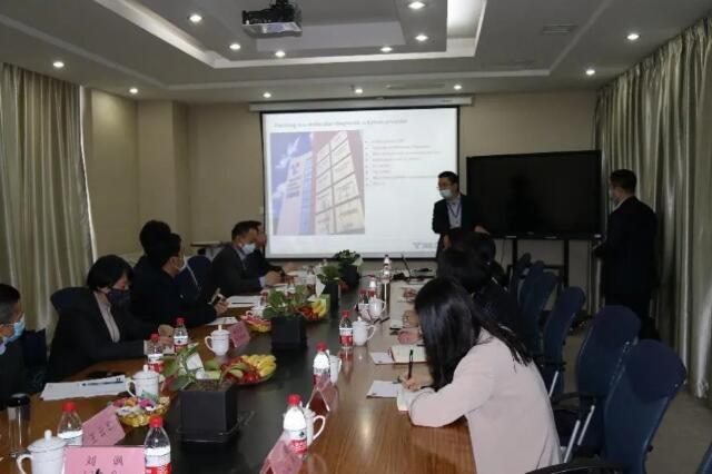Title: Officials from Korean, Cambodian and Malaysian Consulates General in Xi'an Visited Tianlong