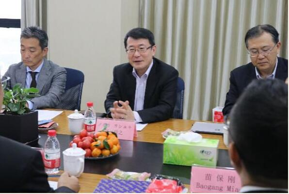 Mr. Hiroyuki, Research & Development Head of Hitachi Group Visited Xi'an Tianlong