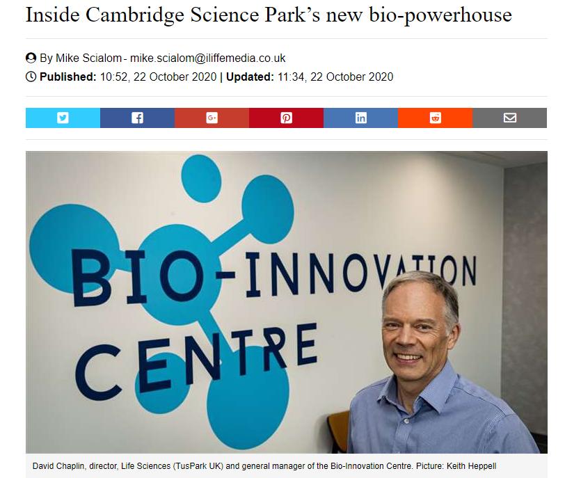 英国《Cambridge Independent》:启迪创新生态及发展理念为剑桥注入了新鲜血液