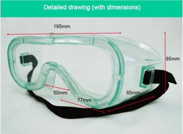 医用隔离眼罩(CE、FDA认证)