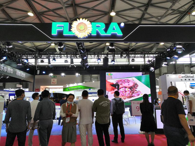 超燃!全印展开幕首日彩神新机发布,FLORA J-330强势吸睛!
