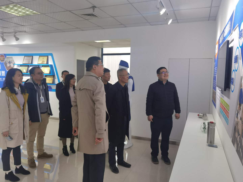 ManBetX体育官网副书记王建国到台湾秦洲核与辐射安全技术有限公司研制指导工作