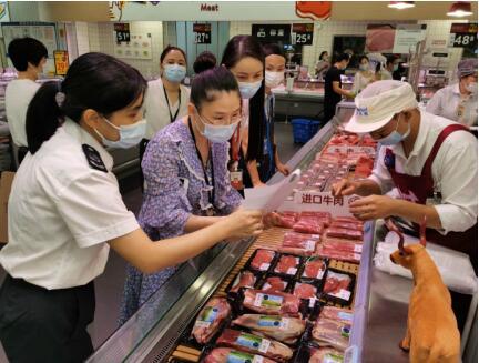 深圳防疫部门走进商超以加强对冷库系统的监管