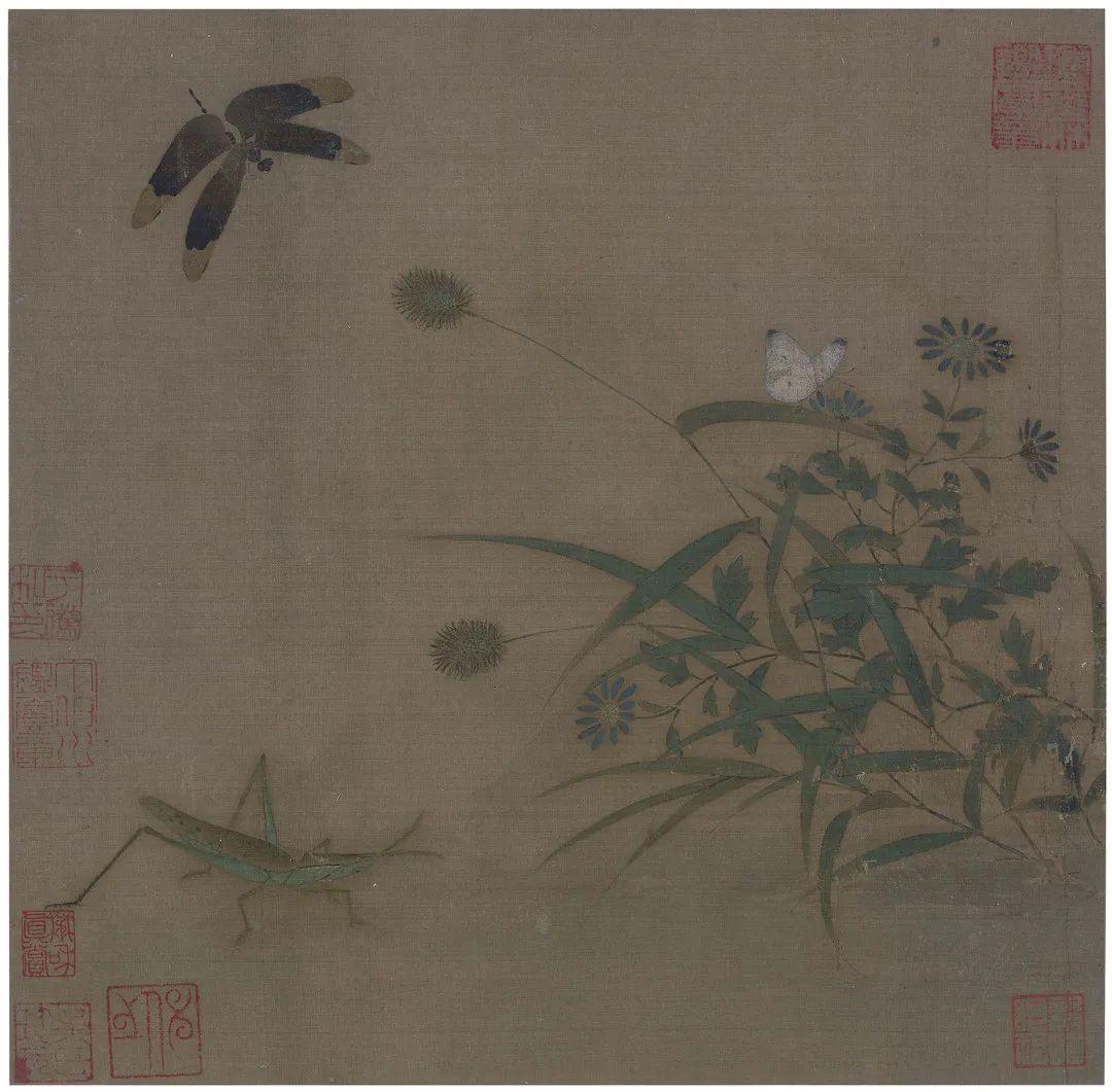 赏析丨宋代小品画:草虫小品画