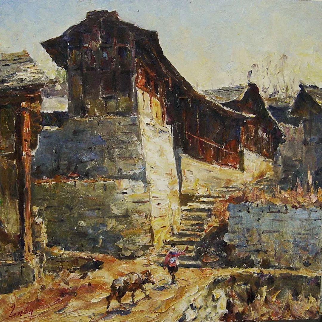 毕永祥,一位札根乡土30余年的老艺术家