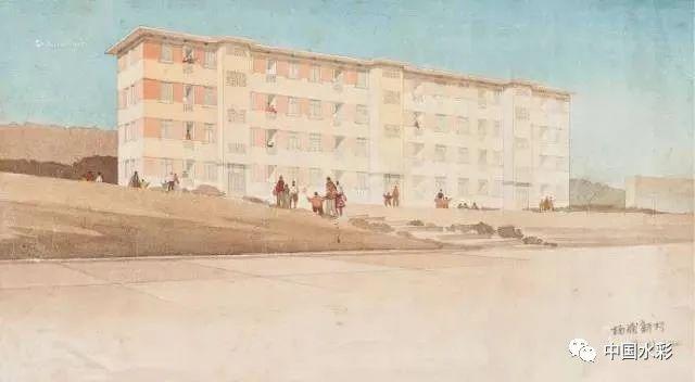 潘思同|中国第一代先驱水彩画家
