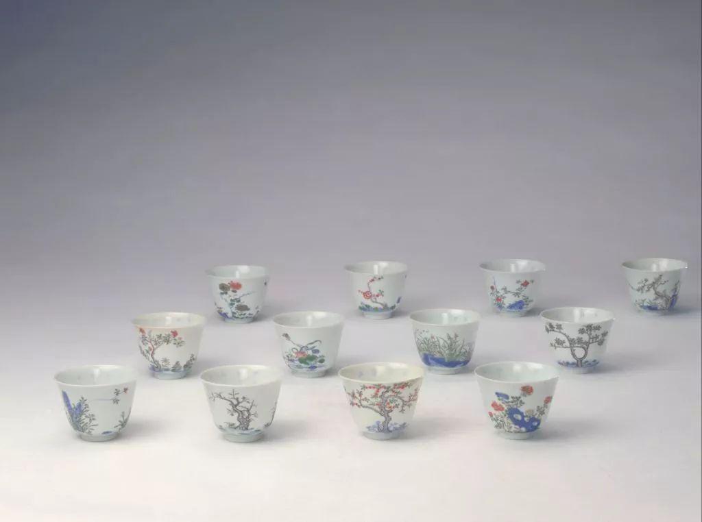 若有一套十二花神杯 ,夫复何求 !