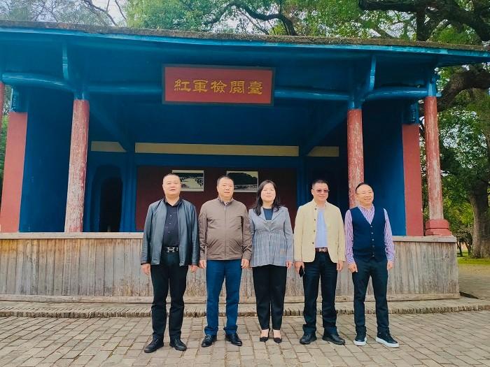 公司领导一行赴江西省瑞金市进行考察