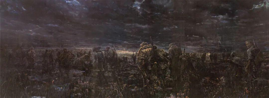 独家鉴赏——历史是一个背影,但画家却能与之同步逍遥游