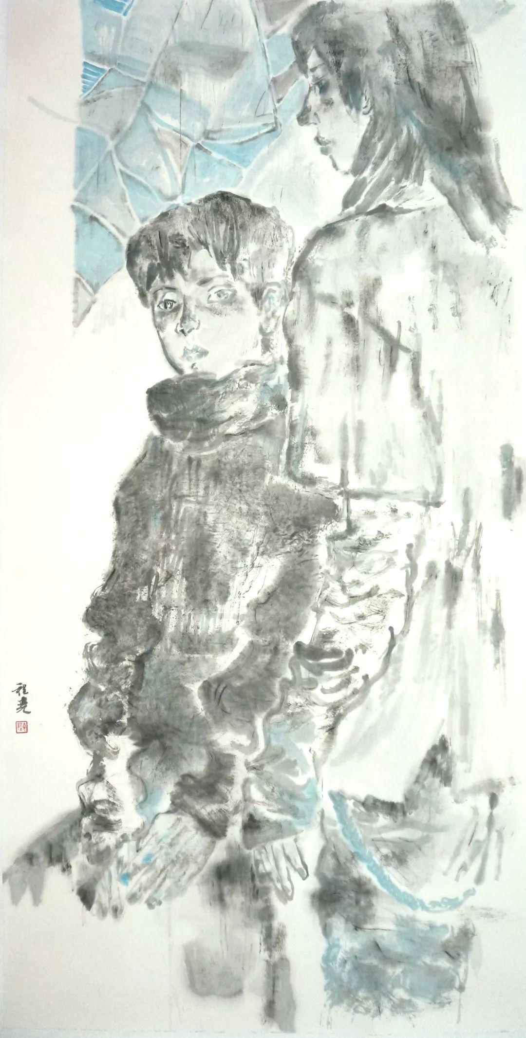 「新锐·微个展」广美| 程尧:少年的现世水墨造梦乐园