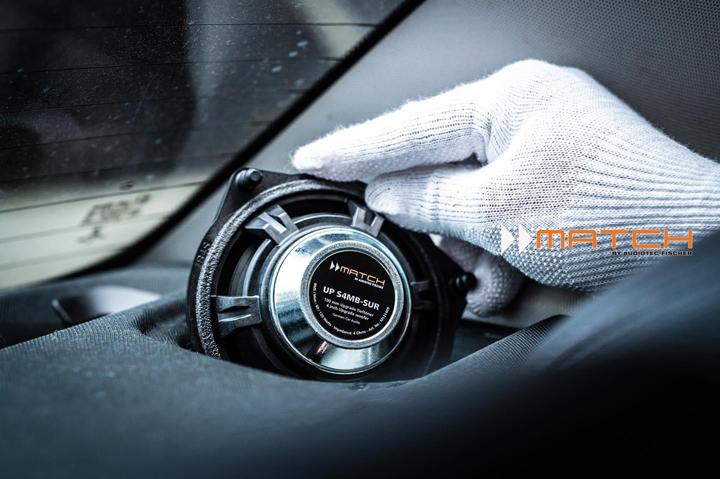 奔驰无损升级德国MATCH专车专用音响,倾听经典乐曲中的千言万语