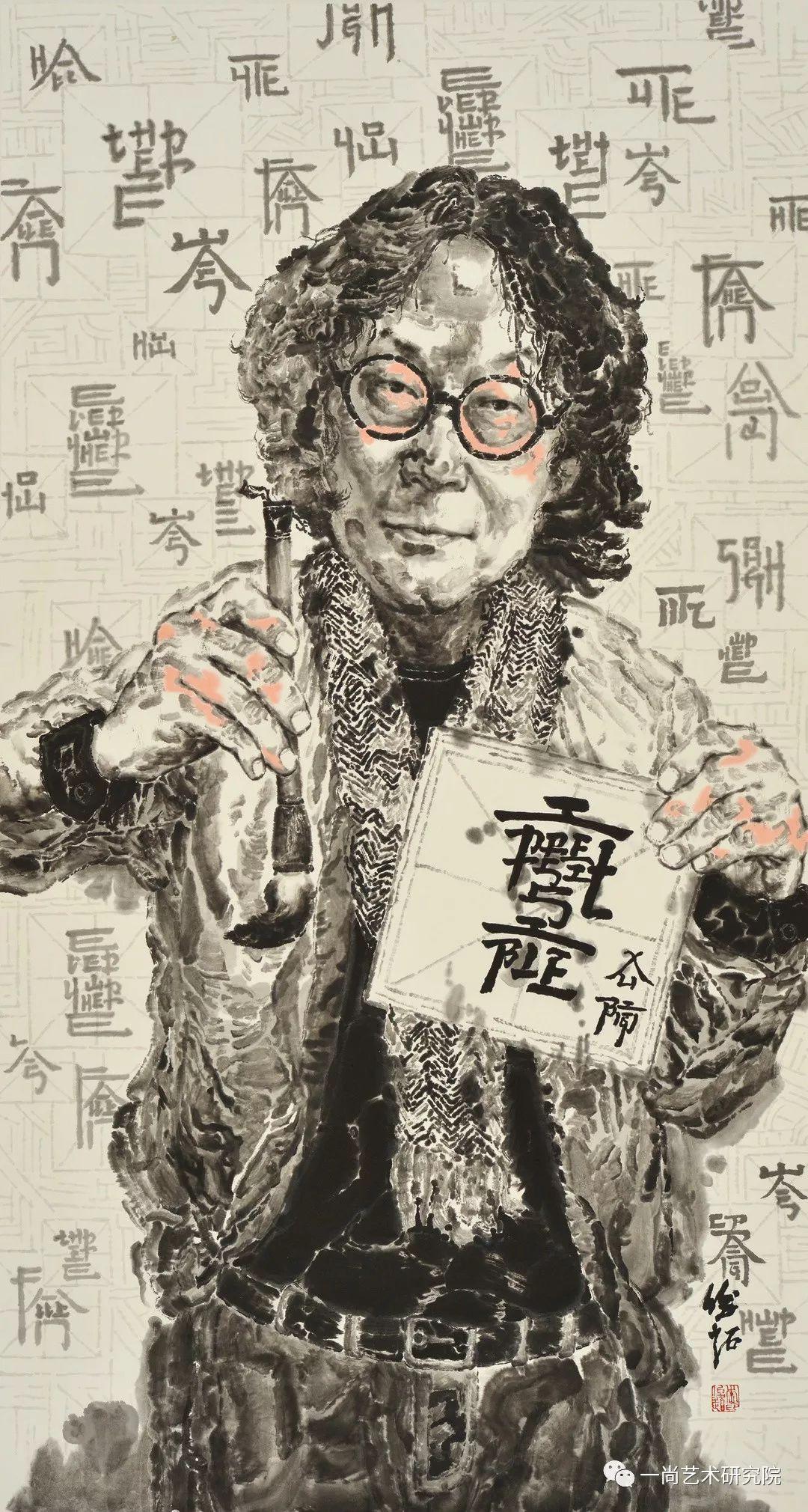 「新锐·微个展」广美  李俊超:趣怪的水墨肖像