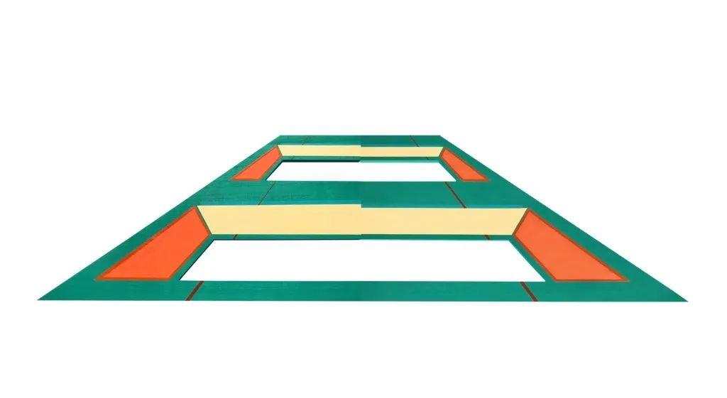 「新锐·微个展」湖美 罗益畅:色块内涵于空间起承转合