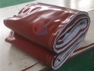 钢厂耐温防腐蚀氟胶布蒙皮----裕隆制造
