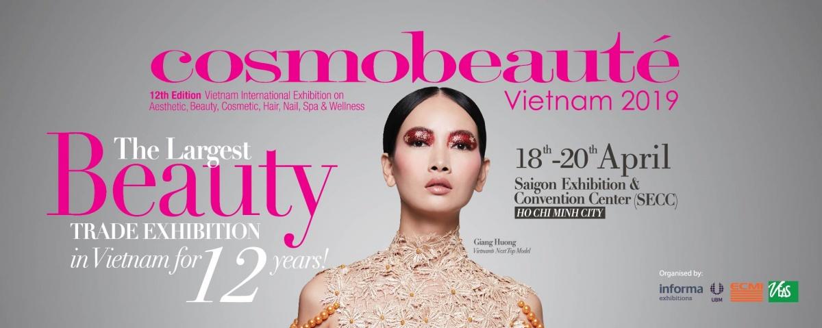 展会回顾   2019年越南国际美容展Cosmobeaute Vietnam,美丽待续