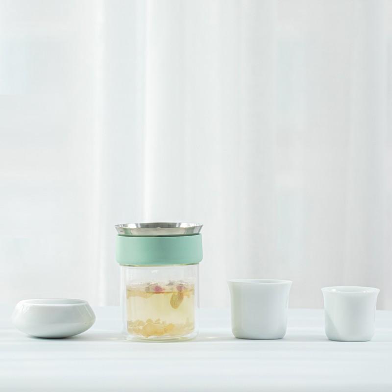 原初格物易杯双层玻璃杯ins风茶杯套装
