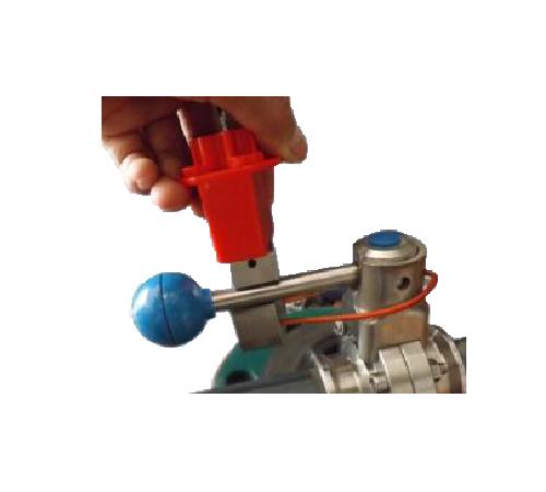 Special butterfly valve lock V23