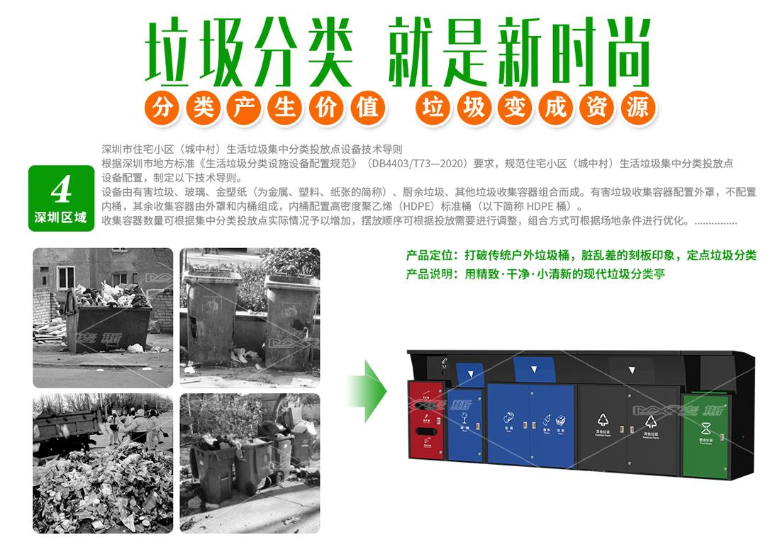 深圳垃圾分类桶
