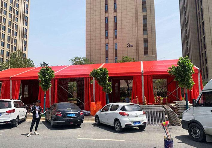 郑州婚庆篷房租赁出租远比你幻想的刚强