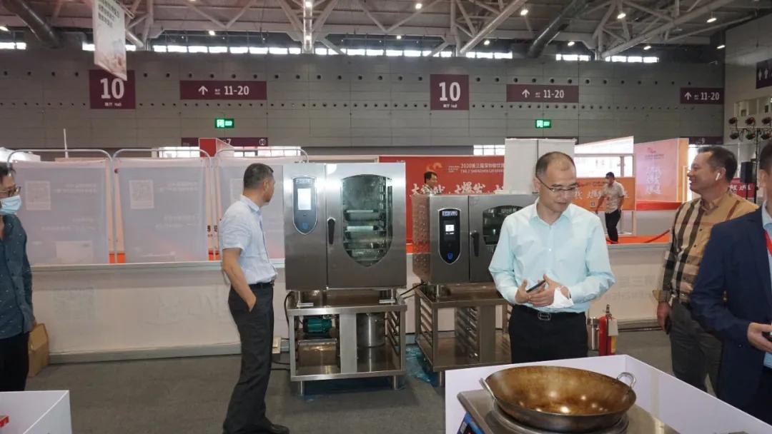 粤深厨协组织会员参观2020第三届深圳餐饮博览会