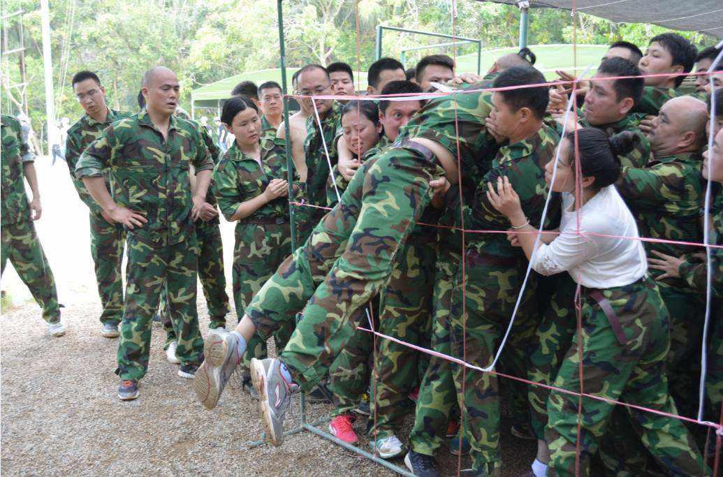 野外两天军事拓展训练心得