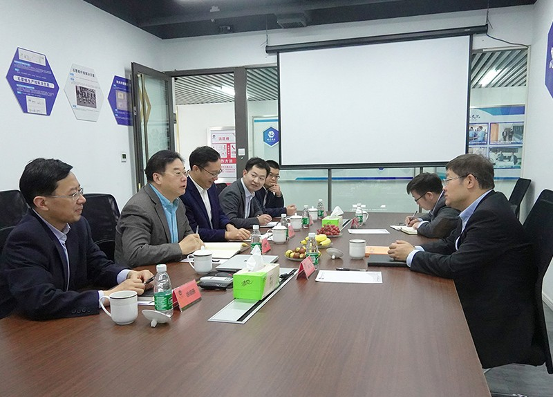 江苏悦达集团祁广亚总裁调研烯望科技