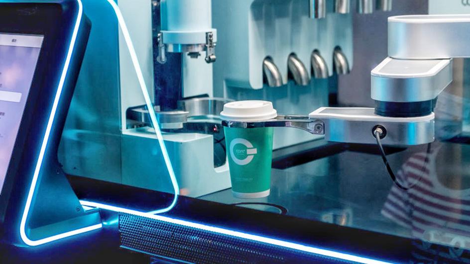 从进博会看疫情后全球食品行业新趋势,机器人咖啡好评如潮