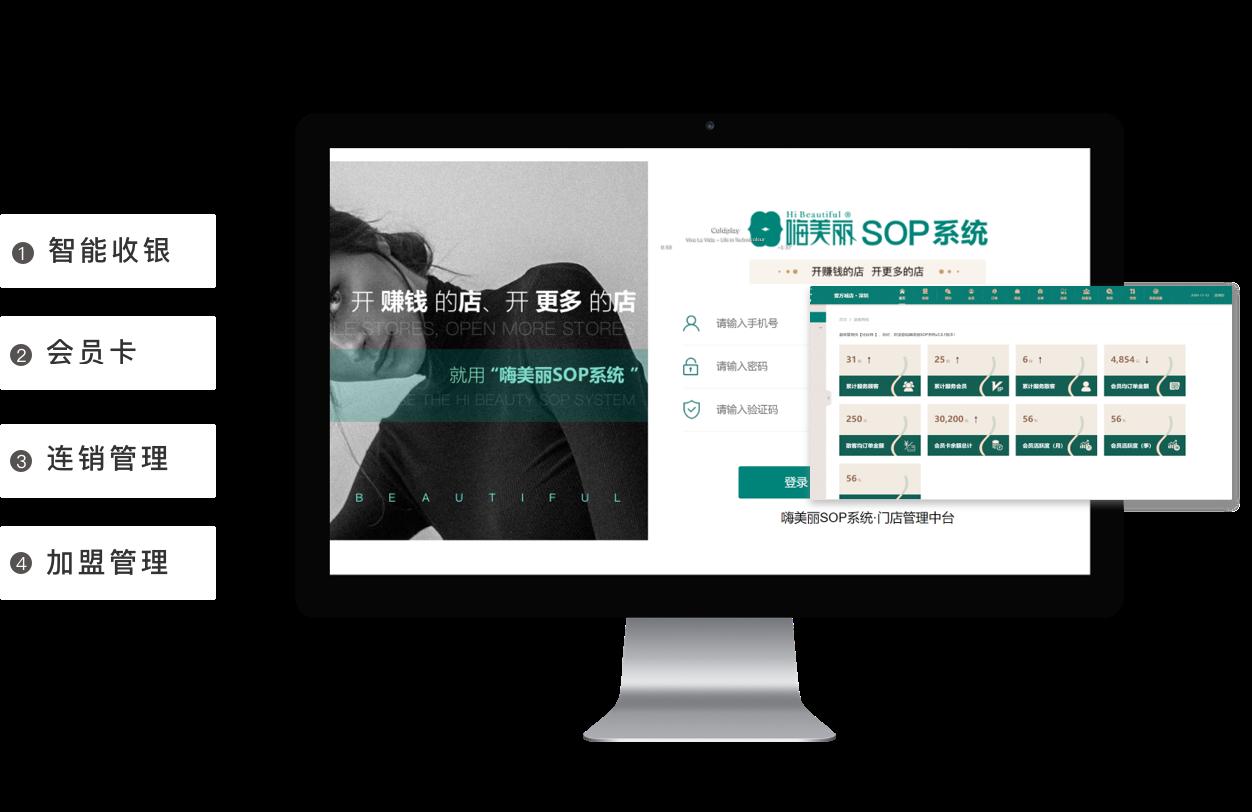 嗨美丽SOP系统亮相广州国际直播产业博览会—推动美业门店数字化转型升级!