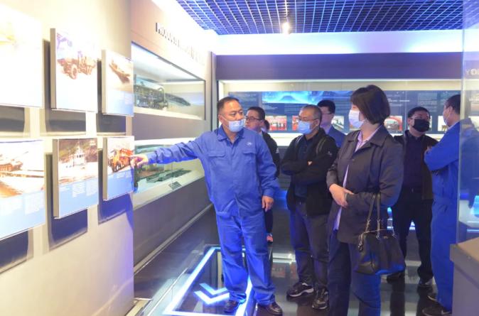 中国船舶工业贸易有限公司莅临公司考察交流