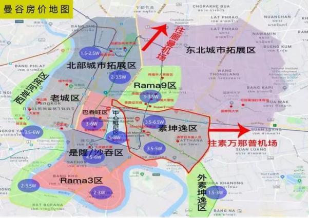 东南亚几大城市核心区域房价?