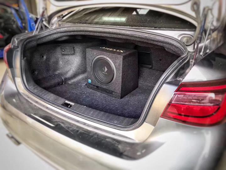 英菲尼迪Q50升级德国HELIX音响,让人生随着音乐尽情狂浪