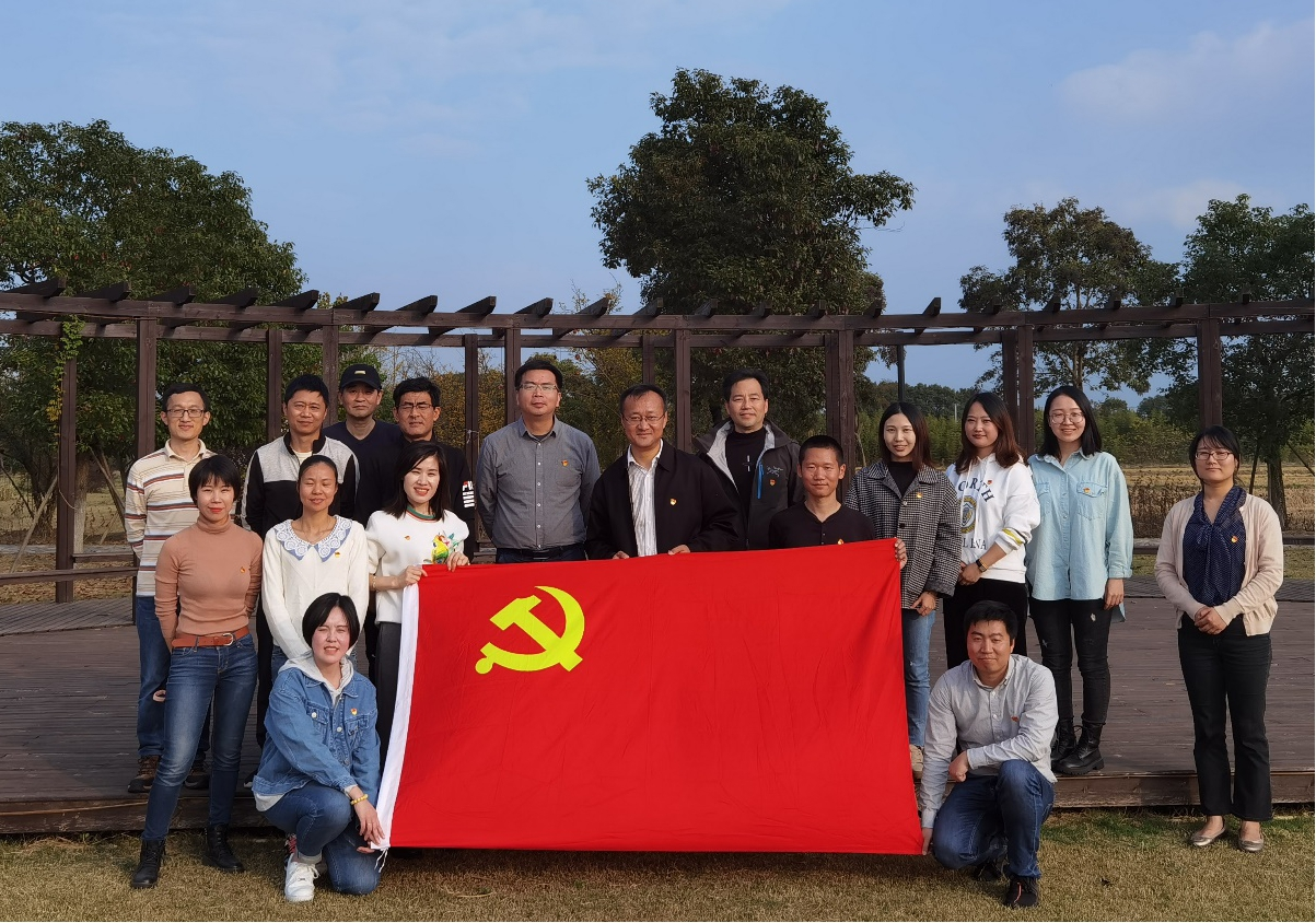 基础设施公司与青浦区区域办组织联建活动