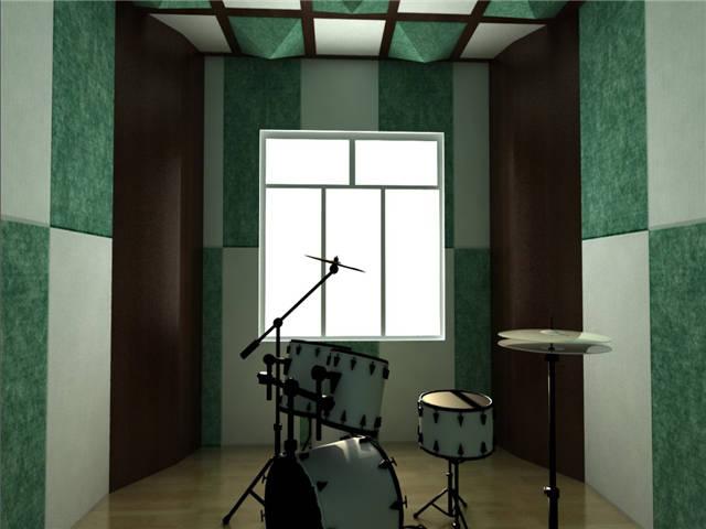 音乐教室—鼓房