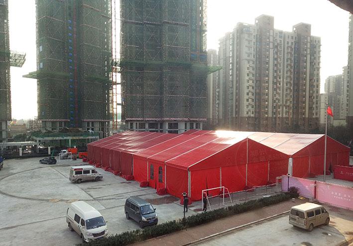 简单又不失内涵的郑州婚庆篷房租赁出租公司