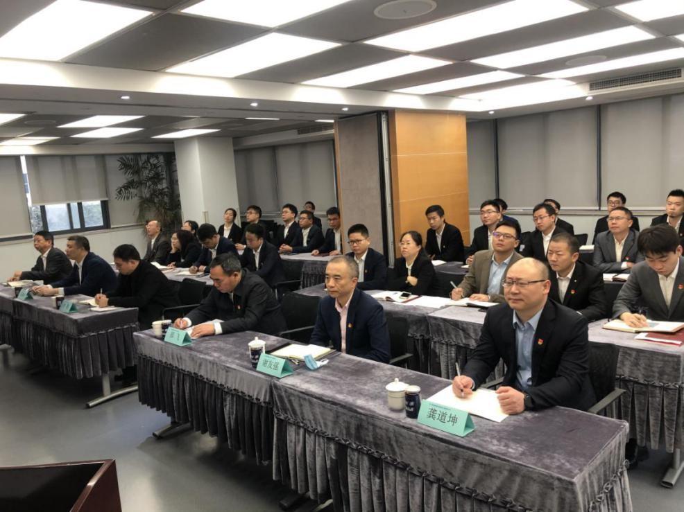 国药集团纪委书记邵飞来我公司进行基层联系点支部的调研指导