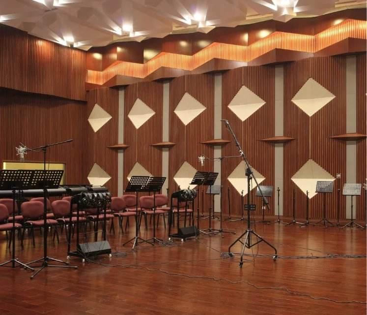 交响乐队排练室