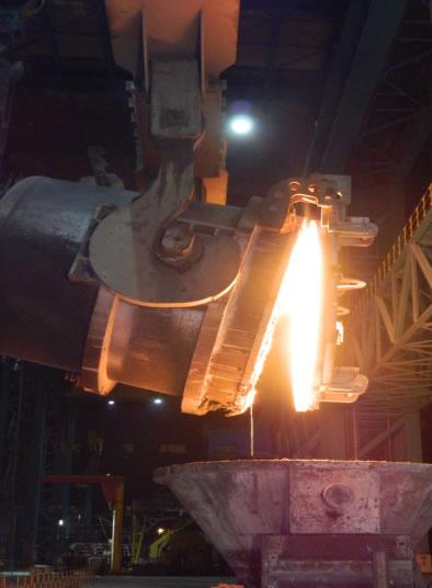 鋼包全程加蓋技術